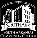SouthArk Academic black inverted width half inch